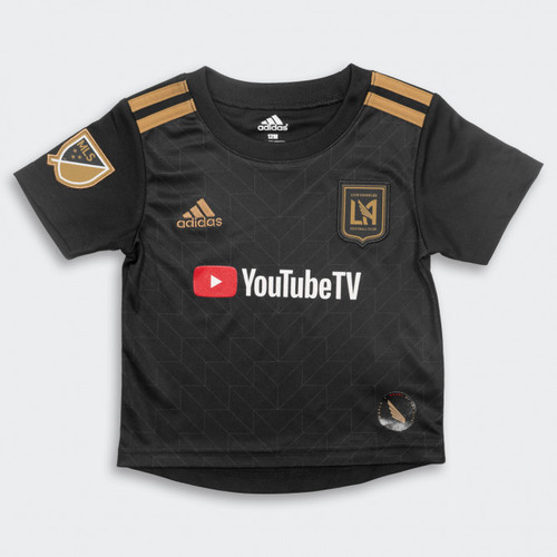 93b3f9abe ADIDAS LAFC 2018 AUTHENTIC HOME `VELA` L S JERSEY - Soccer Plus