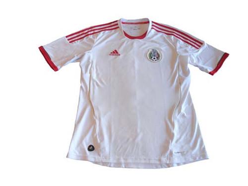 1232eb75e ADIDAS MEXICO 2012 AWAY JERSEY WHITE - Soccer Plus