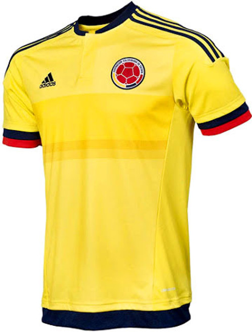 ef83b3d27 ADIDAS COLOMBIA 2015 HOME JERSEY - Soccer Plus