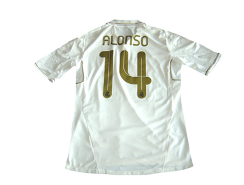 58f385146 ADIDAS REAL MADRID 2012 HOME UCI `ALONSO` JERSEY - Soccer Plus