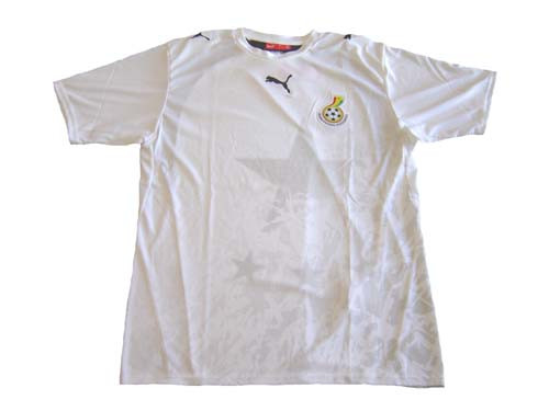 4523594f2 PUMA GHANA 2006 HOME JERSEY WHITE - Soccer Plus