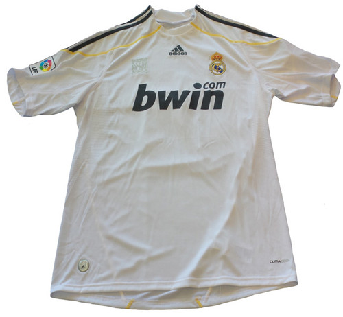 24a7dbb06ff ... ADIDAS REAL MADRID 2010 HOME `KAKA` JERSEY. Sizes  Required