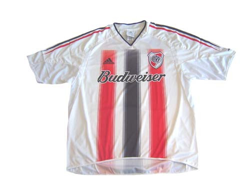 ADIDAS RIVER PLATE 2005 AWAY `BANDERA` JERSEY - Soccer Plus ee3f584a9