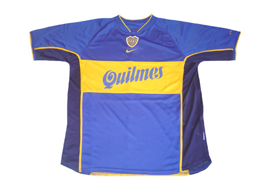 info for 4c3c8 99cfc NIKE BOCA JUNIORS 2001 HOME `ROMAN` JERSEY