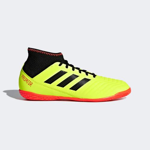 c9417aa210b ADIDAS JR PREDATOR TANGO 18.3 Indoor Shoes White real coral - Soccer ...