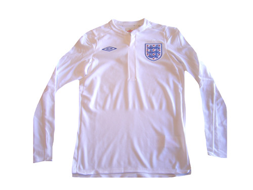 UMBRO ENGLAND 2011 HOME L S JERSEY - Soccer Plus 939480418