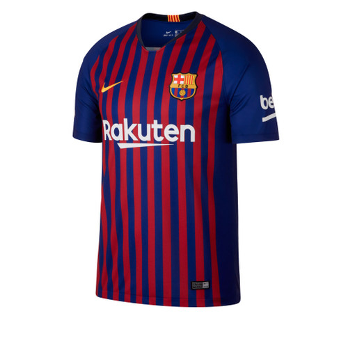 NIKE BARCELONA 2019 ANTHEM JACKET BLUE - Soccer Plus 26b777dd2