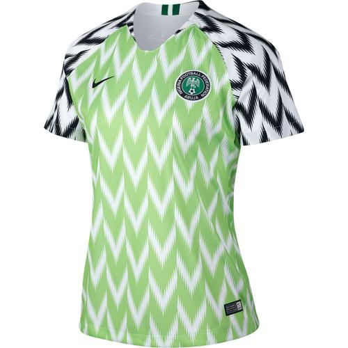 ef7d7c3e9f9 NIKE NIGERIA WOMEN S 2018 World Cup Home Stadium Jersey