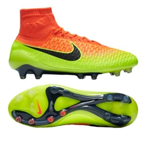 04d7f85e346c Nike Magista Obra FG Soccer Cleats (Total Crimson Black Volt bright citrus