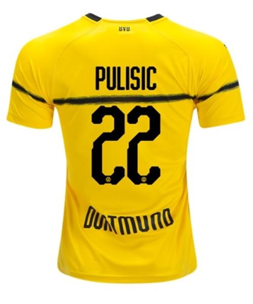 Puma Borussia Dortmund 2019 Home Cup Pulisic Jersey Soccer Plus