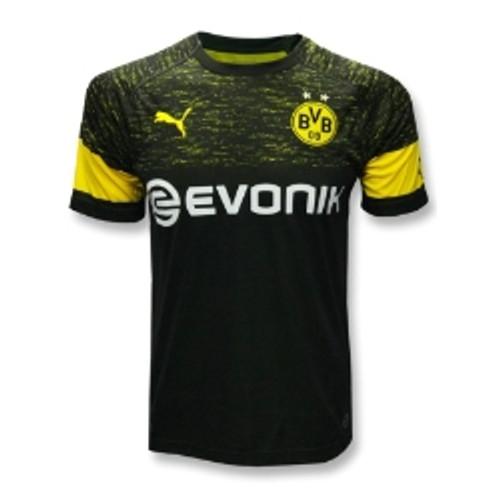 Puma Borussia Dortmund 2019 Away Jersey Black Soccer Plus