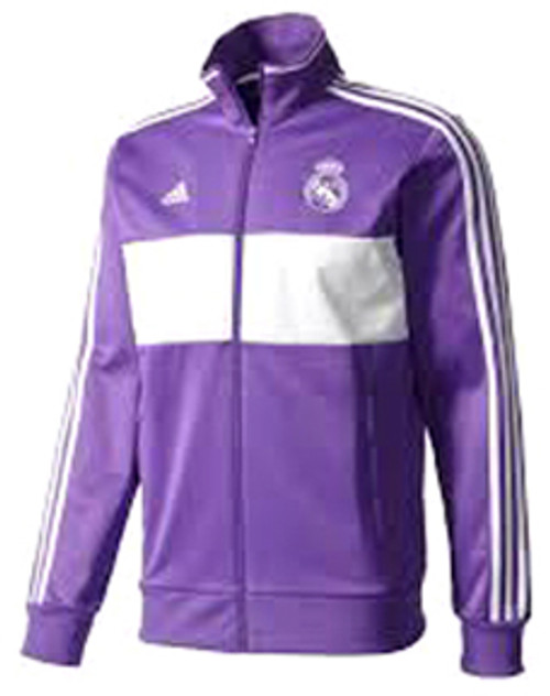 a9865669065c ADIDAS REAL MADRID 2017 PURPLE 3S TRACK TOP