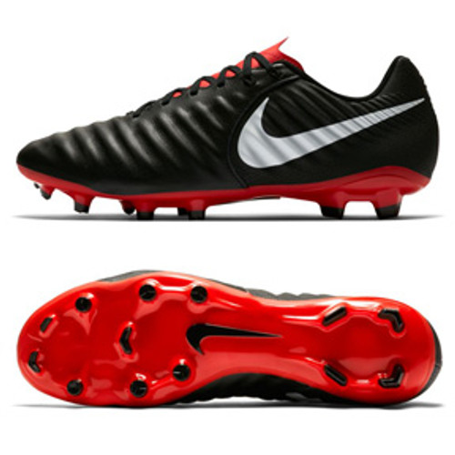online store f5ed9 99cd5 NIKE JR LEGEND 7 ACADEMY FG Black crimson
