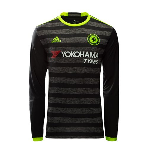 1e24401a4 ADIDAS CHELSEA 2017 AWAY L S JERSEY - Soccer Plus