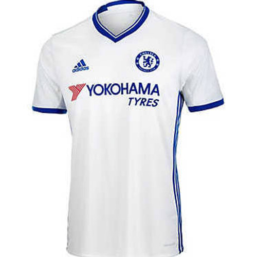 sneakers for cheap a40b4 486ac ADIDAS CHELSEA 2017 BOYS 3RD JERSEY WHITE