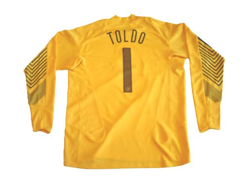 check out 8c0bb a6e19 NIKE INTER MILAN 2006 G/K `TOLDO` JERSEY