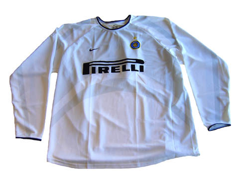 low priced 65549 ffbeb NIKE INTER MILAN 2002 AWAY AUTHENTIC L/S `RONALDO` JERSEY