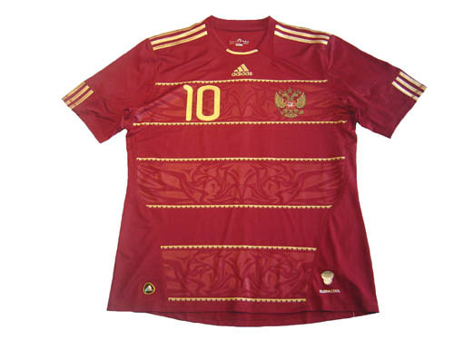the latest abb88 fb7b7 ADIDAS RUSSIA 2010 HOME `ARSHAVIN` JERSEY