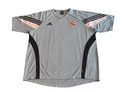 uk availability bd219 a7a65 ADIDAS REAL MADRID 2004 TRAINING JERSEY Argentina Blue