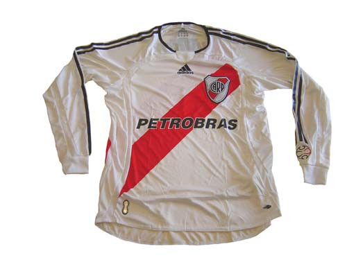 ADIDAS RIVER PLATE 2007 HOME L S JERSEY - Soccer Plus 855b023f8