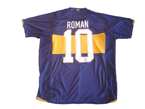 lowest price 26935 9dbd6 NIKE BOCA JUNIORS 2007 HOME `ROMAN` JERSEY