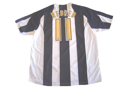 new styles b3a8c 6f113 NIKE JUVENTUS 2005 HOME `NEDVED` JERSEY