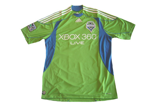 pick up 7d381 b6cd2 ADIDAS SEATTLE SOUNDERS 2009 HOME JERSEY