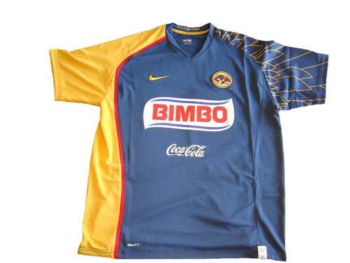 0aa85ec8e NIKE AMERICA 2008 AWAY JERSEY BLUE - Soccer Plus