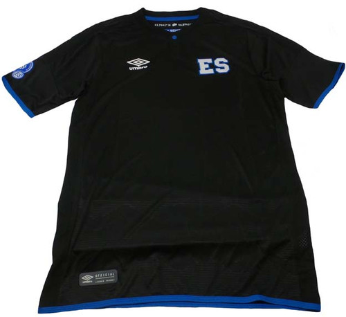 477b4c26209 UMBRO EL SALVADOR 2019 3RD JERSEY BLACK - Soccer Plus