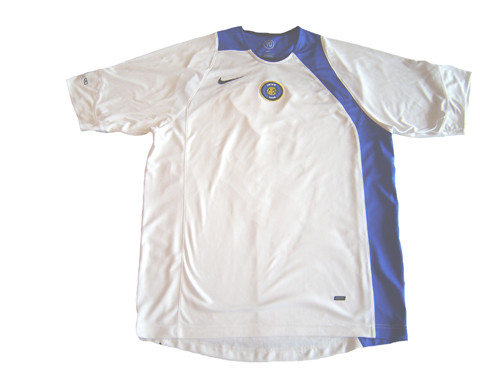 NIKE INTER MILAN 2005 TRAINING JERSEY WHITE - Soccer Plus d2a0ee175