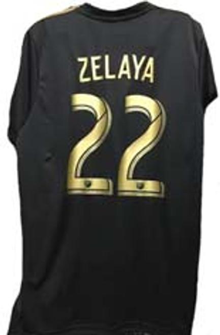 36853e8260b ADIDAS LAFC 2019 BOYS HOME JERSEY BLACK - Soccer Plus