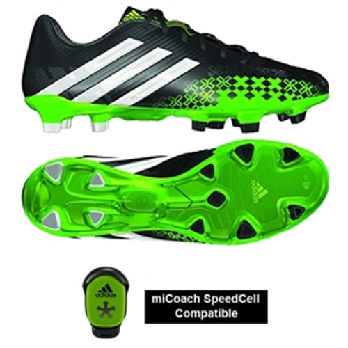100% authentic 171f1 5aa3d ADIDAS PREDATOR LZ TRX FG BLACK RAY GREEN
