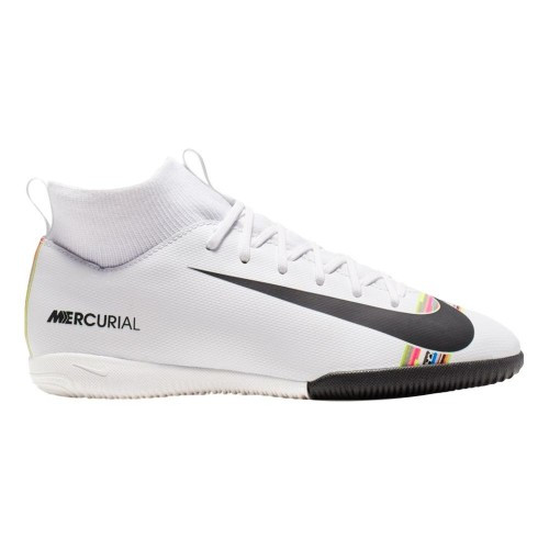 special for shoe meet cheap price NIKE JR SUPERFLY 6 ACADEMY GS IC White/platinum