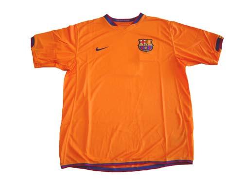 cheap for discount 977fa 5dae4 barcelona orange jersey