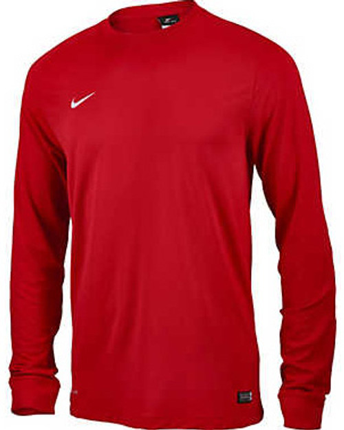 1ca992b771f NIKE PARK II BOYS KEEPER JERSEY GYM RED - Soccer Plus