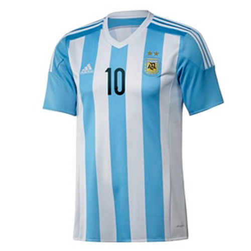 bd136342eca ADIDAS ARGENTINA 2015 `MESSI` HOME JERSEY - Soccer Plus