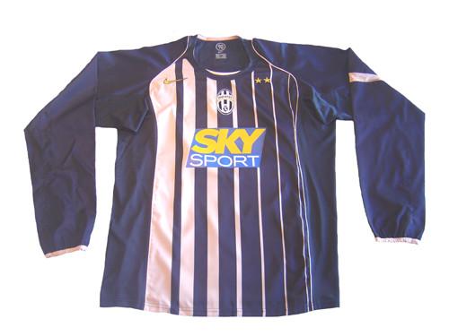 5f8dbd76401 NIKE JUVENTUS 2005 AWAY L S JERSEY GREY PINK - Soccer Plus