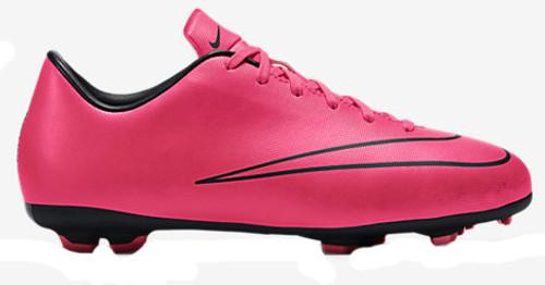 de3e201ff NIKE JUNIOR MERCURIAL VICTORY V FG HYPER PINK firm ground soccer shoes