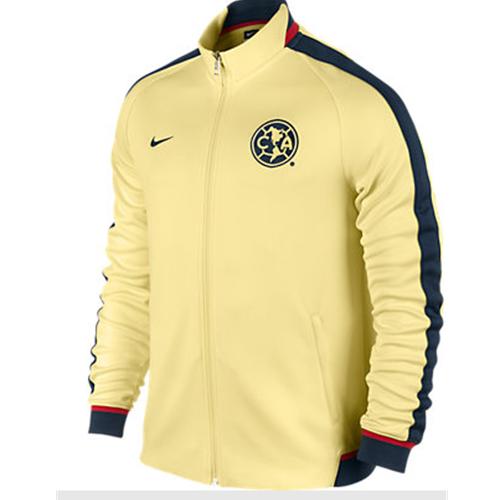 nike club america 2016 n98 jacket yellow  grund jacken c 8_27 #15