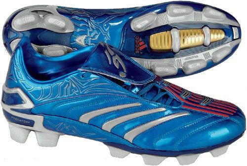 4fd27b762a4a ADIDAS DAVID BECKHAM PREDATOR ABSOLUTE TRX FG METALLIC BLUE SILVER firm  ground soccer shoes