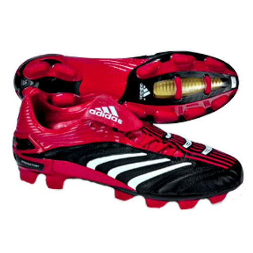 3fbc00ed308c ADIDAS P ABSOLUTE TRX FG BLACK RED firm ground soccer shoes