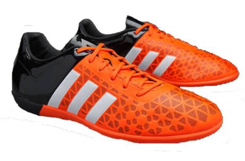 3fe8c46ea ADIDAS ACE 15.3 ORANGE BLACK indoor soccer shoes - Soccer Plus