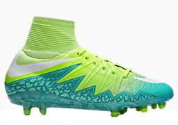 huge discount e40e8 51de3 NIKE HYPERVENOM PHANTOM II FG Women's firm ground soccer cleats green