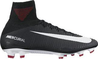 22b7bf0d73fa Nike Mercurial Superfly V FG Soccer Cleat black dark grey white ...