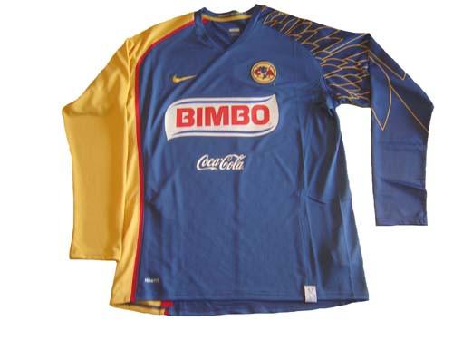 1065a3c9d NIKE AMERICA 2008 AWAY LS JERSEY BLUE - Soccer Plus