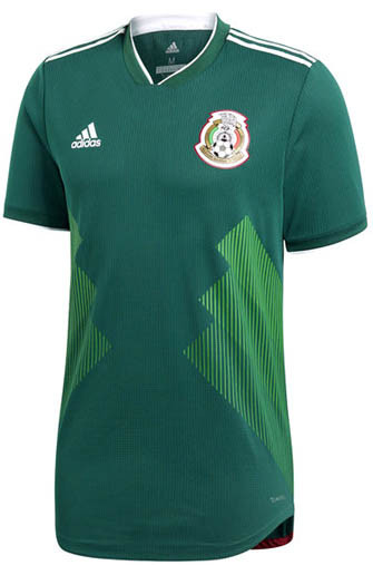 ADIDAS MEXICO 2018 WORLD CUP AUTHENTIC HOME JERSEY - Soccer Plus 79d8b9ddf07d