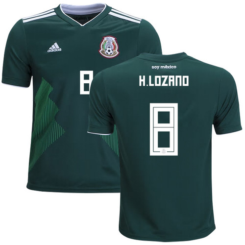 finest selection 5b391 84415 ADIDAS MEXICO WORLD CUP 2018 `LOZANO`HOME JERSEY