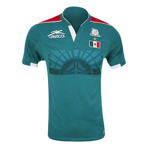 fb39f399a3f ATLETICA MEXICO OLYMPIC 2012 HOME JERSEY - Soccer Plus