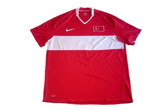 eb4d17a24 NIKE TURKEY 2008 HOME JERSEY RED - Soccer Plus