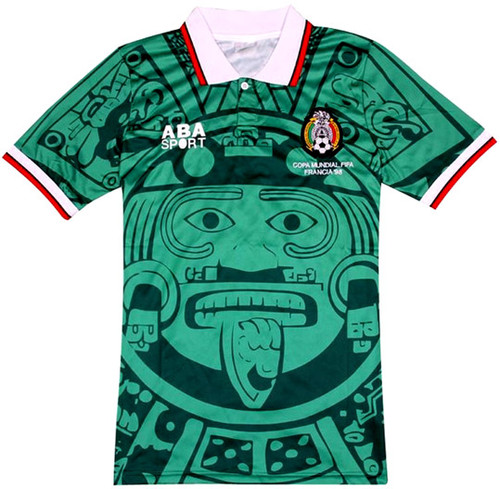 sneakers for cheap 8e4a4 751c7 ABA SPORTS MEXICO 1998 RETRO JERSEY